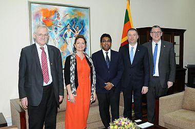 Acting Foreign Minister meets Members of German-South Asia Parliamentary Friendship Group