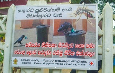 Dengue Epidemic in Sri Lanka successfully brought under control