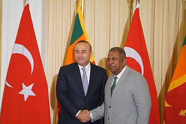 The Visit of the Minister of Foreign Affairs of Turkey to Sri Lanka from 14-16 June 2016